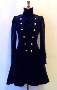 Image of Velvet frock coat