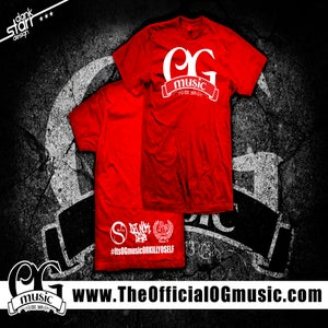 Image of OGmusic EST 2013 T-Shirt (Red)