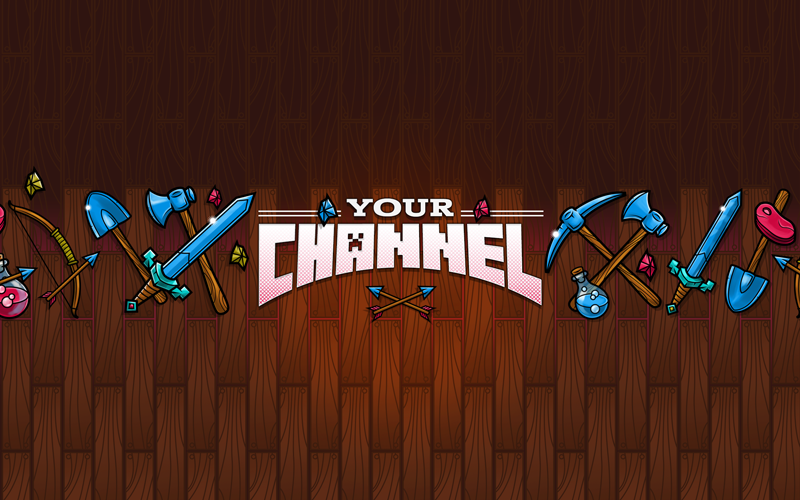 Youtube Banner Ad Template