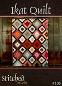 Image of Ikat Quilt Pattern