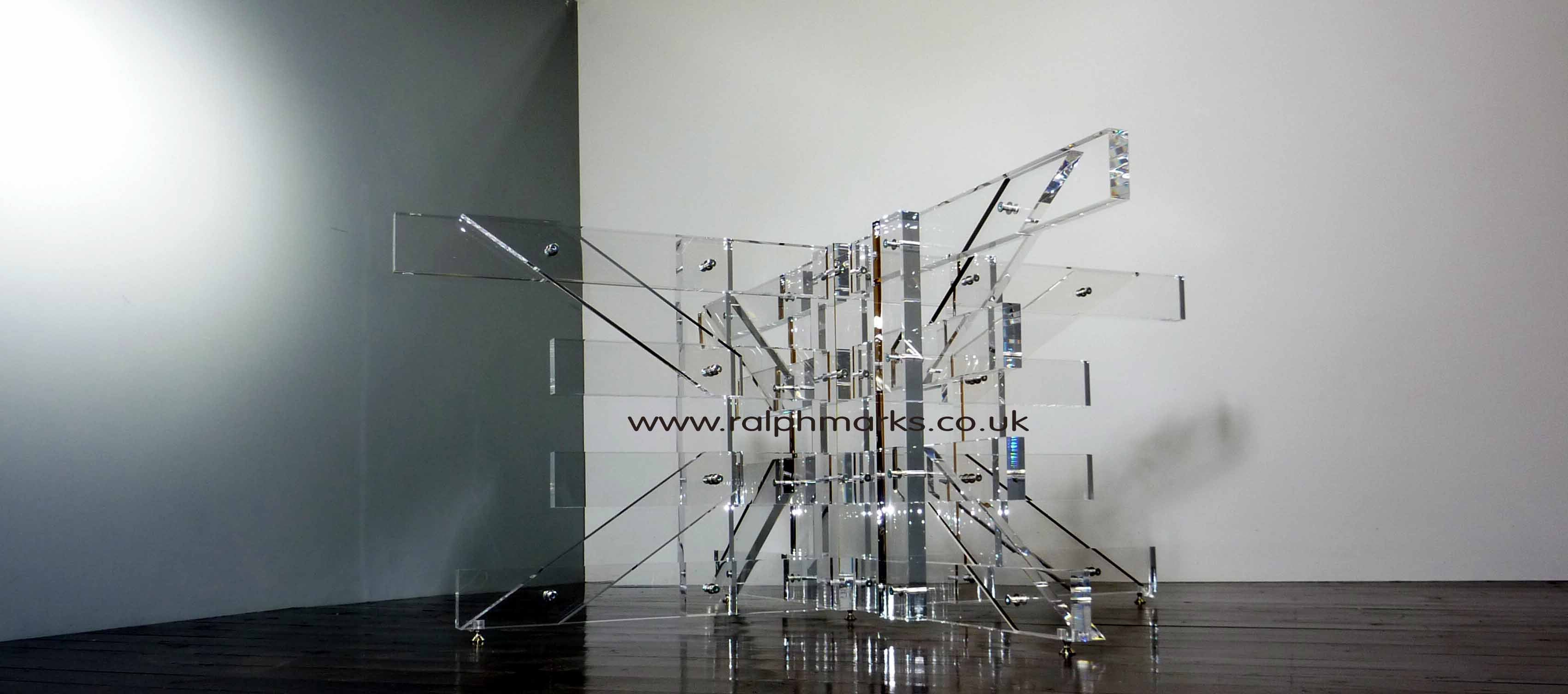 Ralph Marks Perspex Acrylic Furniture UK Acrylic  : AcrylicDiningTable 3 WEBcopy from www.ralphmarks.com size 1200 x 531 jpeg 78kB