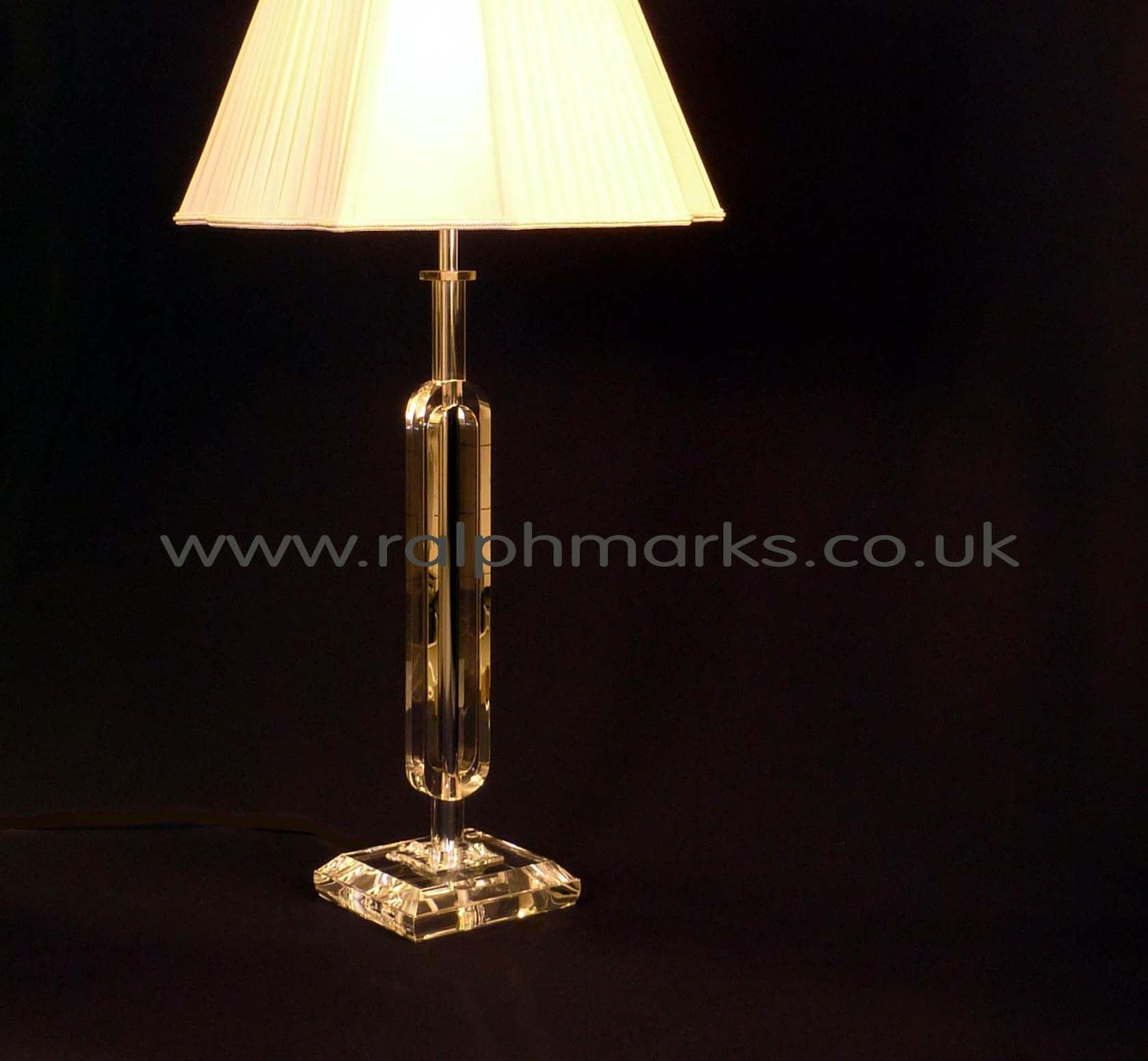 Acrylic Table Lamp UK