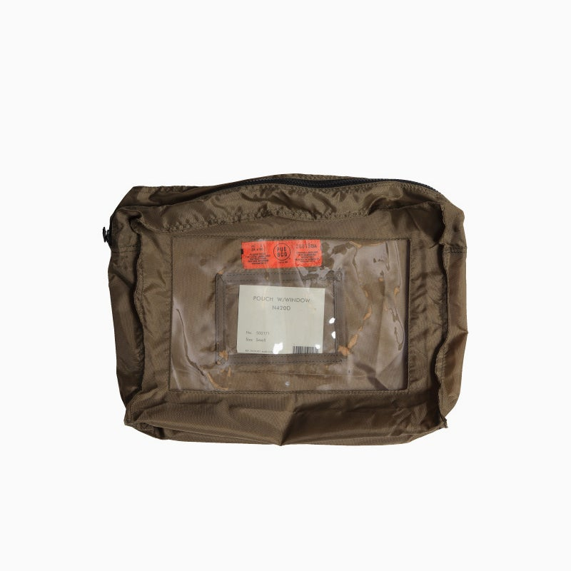 Image of PUEBCO Pouch w/ Window - LARGE