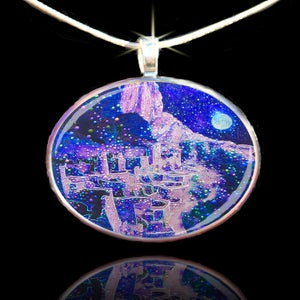Image of Ghosts Of The Anasazi Pendant - Rediscover Nature's Harmonious Balance
