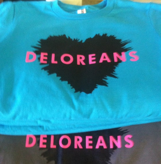 Image of Deloreans T-Shirt (2014)