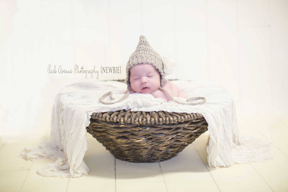 Image of Newborn Simple Pixie Bonnet & Pants Set,