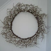Image of White Beaded Wreath