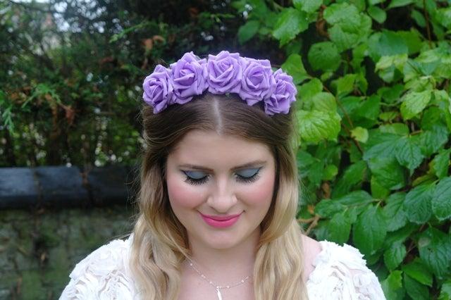 Image of Wild Rose Crown Lilac