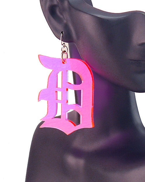 Image of Candy Color Detroit Earrings