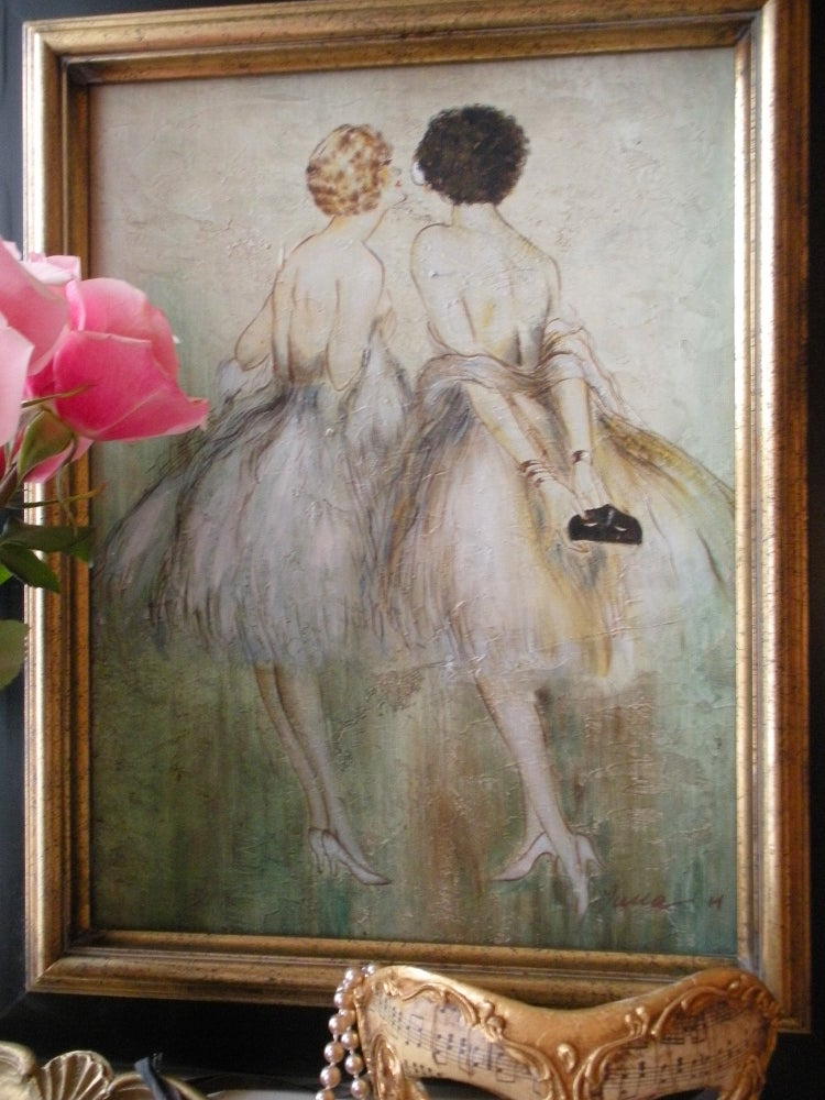 Image of 1940's Vintage Painting