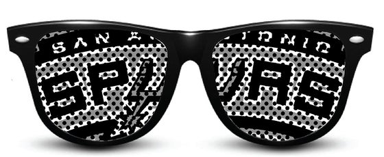 Image of My Custom Specks San Antonio Spurs Specks