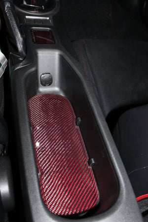 Image of Innovated Dynamics FRS/BRZ/GT86 Carbon Fiber Center Cup Holder Tray