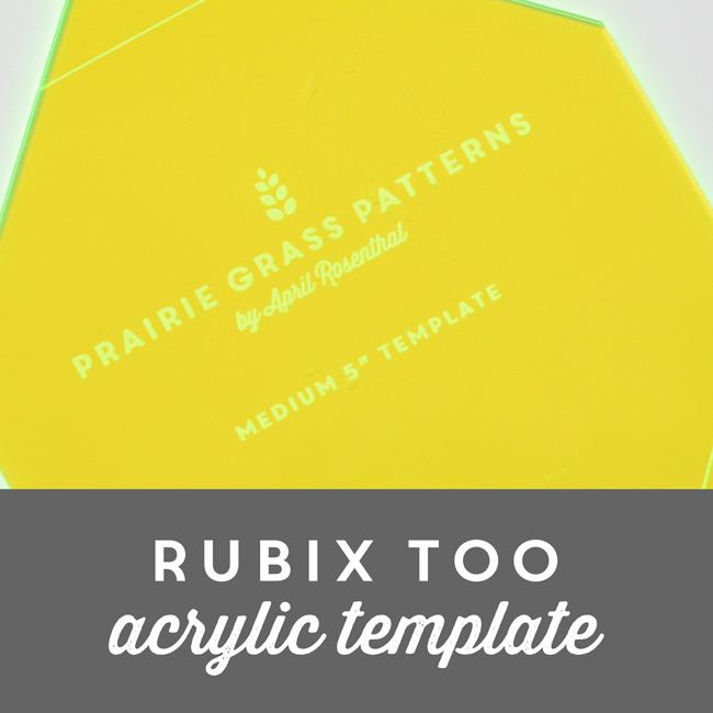 Image of Rubix Too Acrylic Template