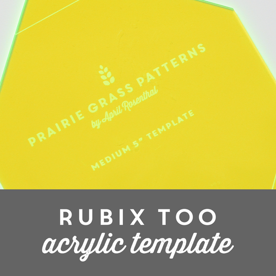 Image of Rubix Too Acrylic Template