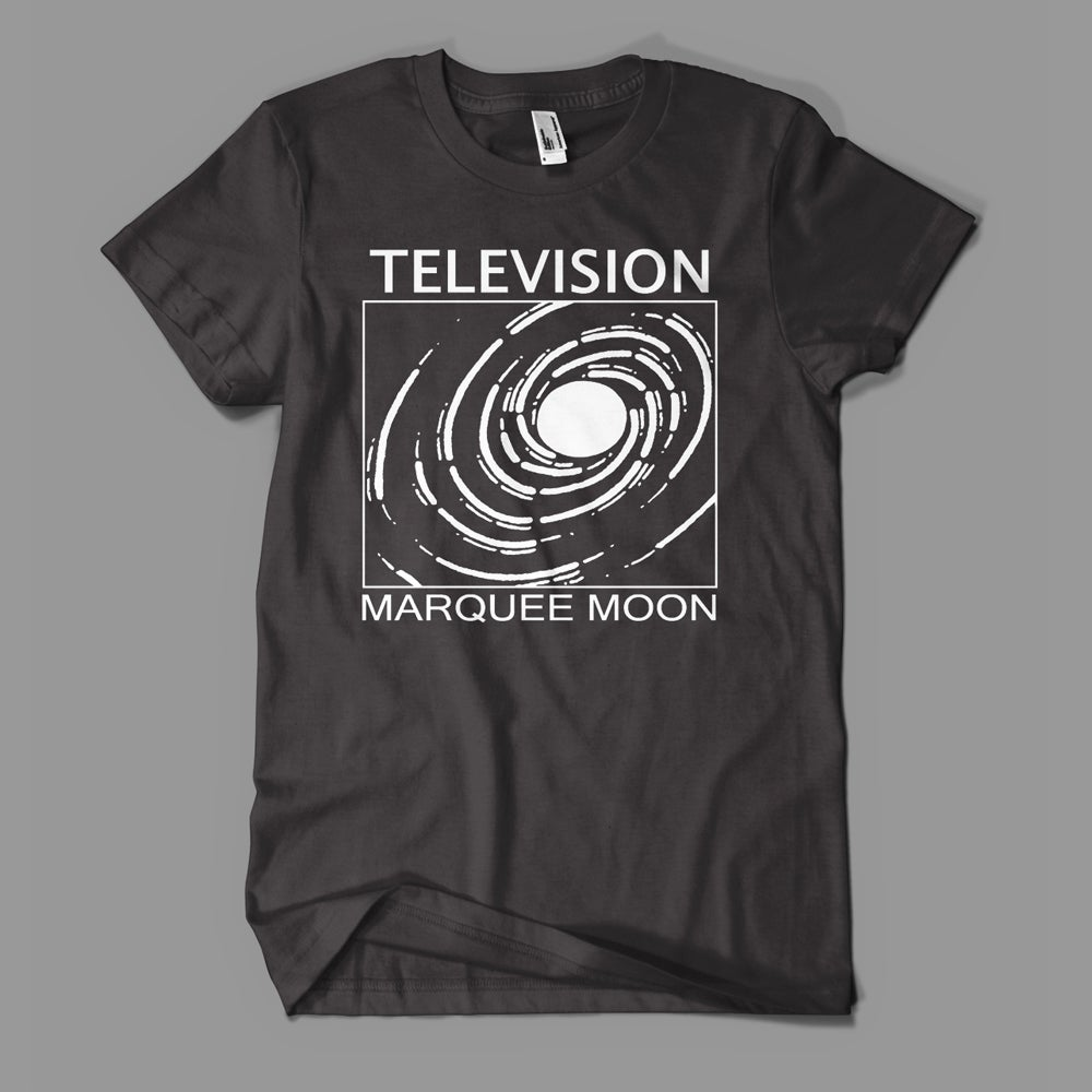 "Image of Television - ""Spiral"" Tee - Black"