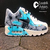 "Image of Air Max 90 ""Mind Overload"" Custom"