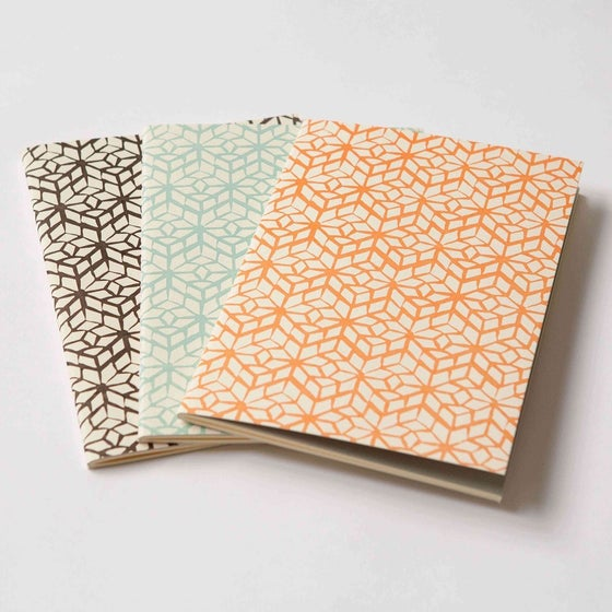 Image of Letterpress Notebook - Domestic Bliss