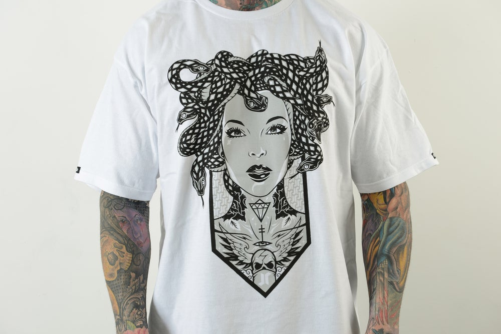 Image of MEDUSA TEE (WHITE)