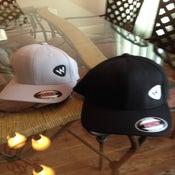 Image of Black & Grey Dry Fit/Flex Fit Hat