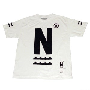 Image of Narcowave White Icon Tee