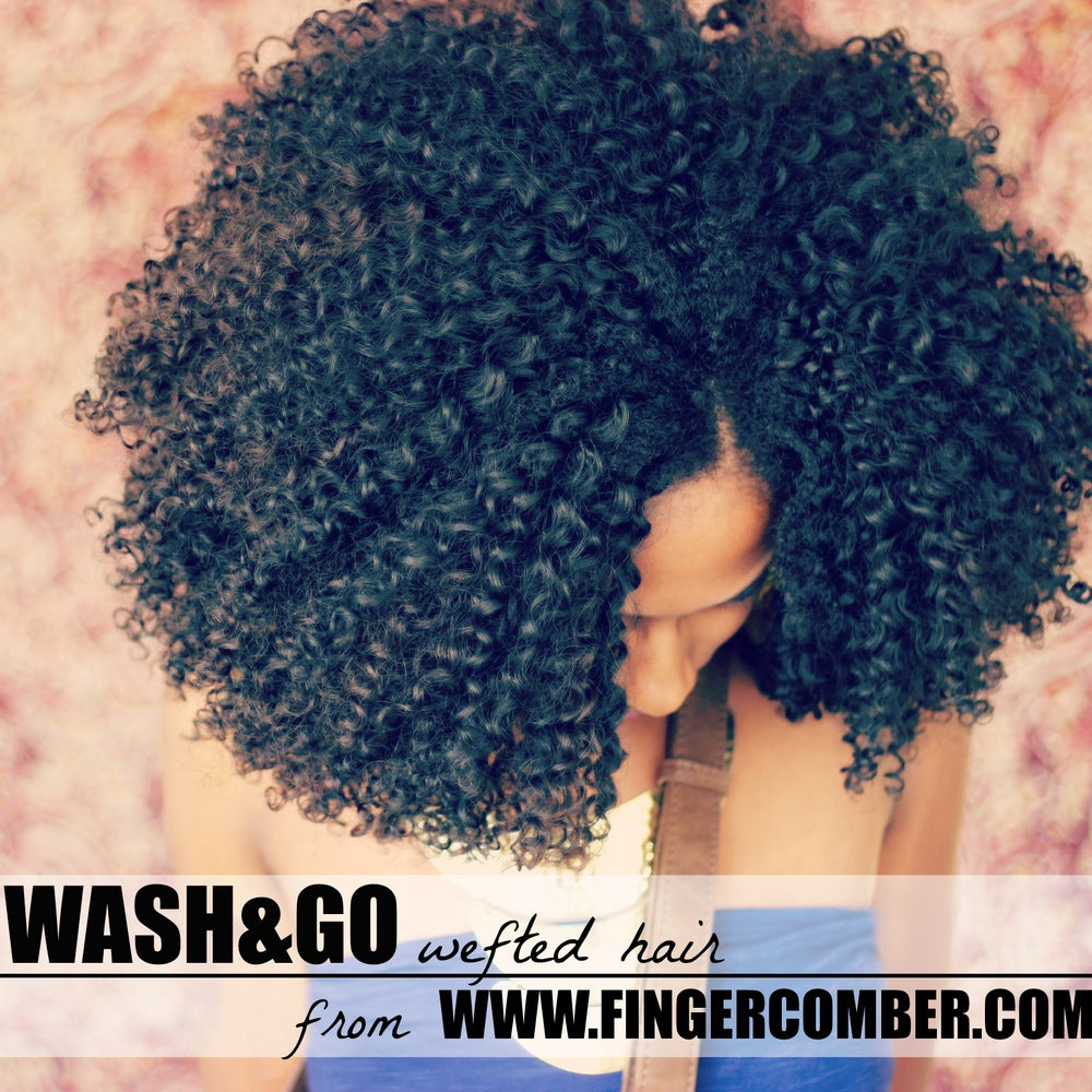 Image of WASH AND GO WEFTED HAIR