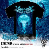 Image of KONKEROR - album Tshirt