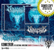 Image of KONKEROR - The Abysmal Horizons SIGNED CD!!! limited!