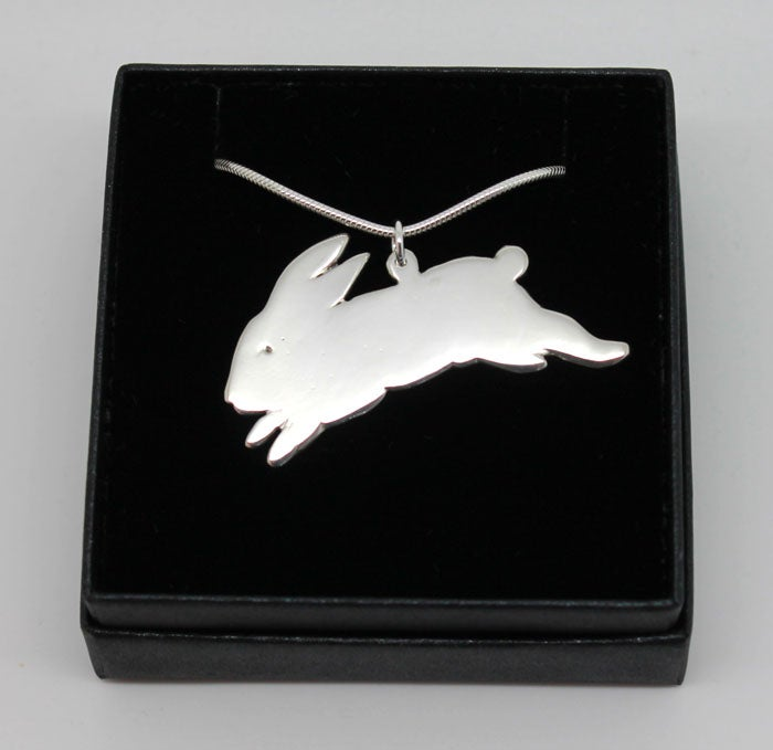 Image of BUNNY STERLING SILVER NECKLACE