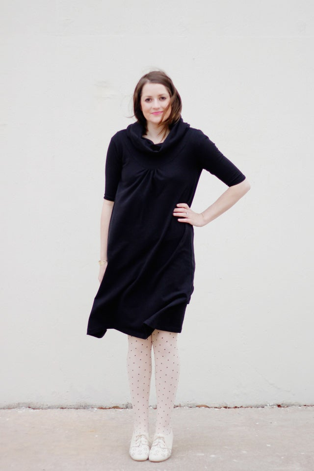 Image of the CITY GIRL frock + top PDF pattern