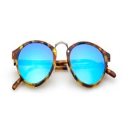 Image of Audacia - Havana Storia + Blue Mirrored Lens