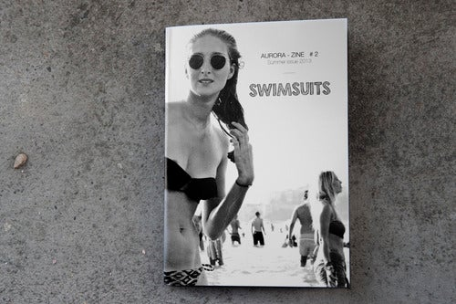 Image of AURORA-ZINE #2 SWIMSUITS