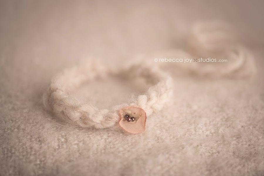 Image of {Organics Collection} Raw Silk Bloom Headband