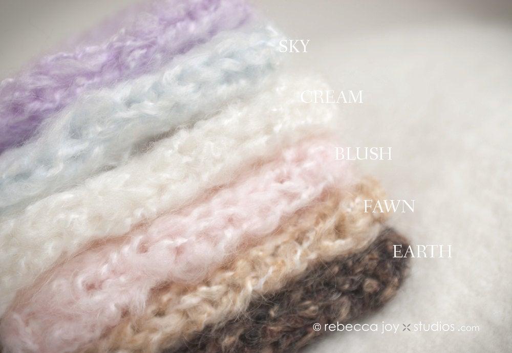 Image of {the Sweatheart} Knit Newborn Bonnet