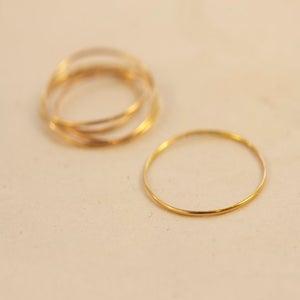 Image of Extra Thin 14k Ring