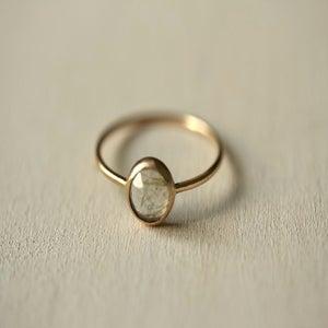 Image of Rutilated Quartz 14k Yellow Gold Ring