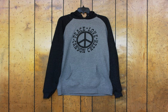 Image of Peace Love Canyon Creek Hoodie