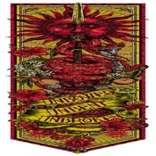 Image of UNBOWED. UNBENT. UNBROKEN - Call the Banner series2 - SUN SPEAR RED VIPER art print