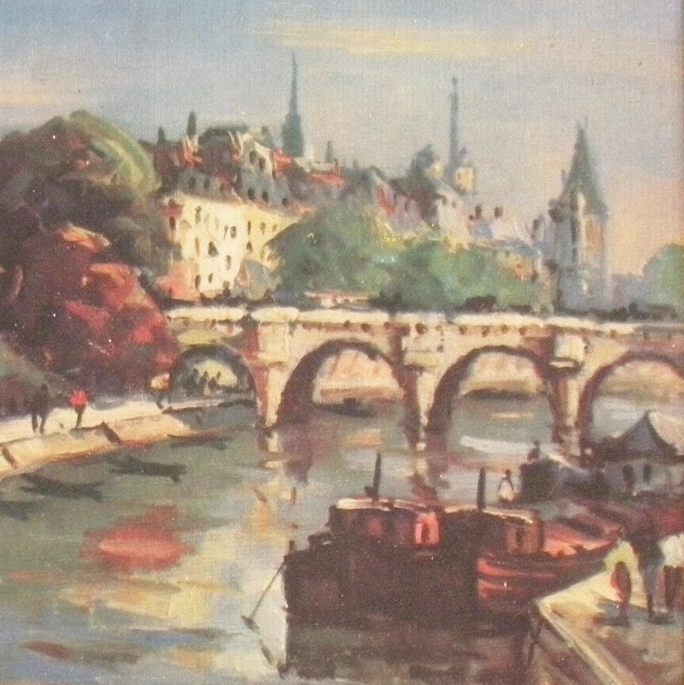 Image of Paris Oil Painting