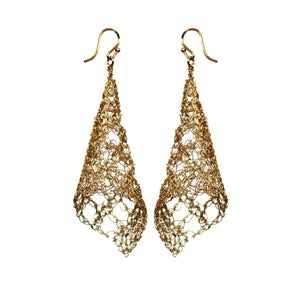 Image of Large cone earrings