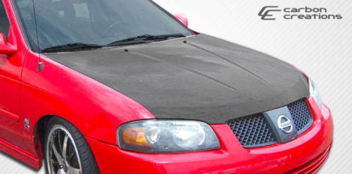 Image of (B15) Carbon Fiber Hood 04-06 All Sentras