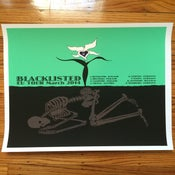 Image of EU TOUR SILKSCREEN POSTER