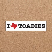 Image of Toadies : I Heart Sticker