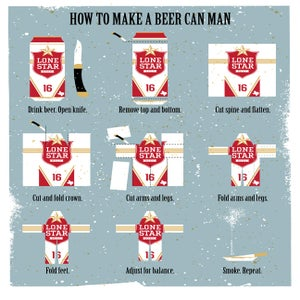 Image of How to Make a Beer Can Man