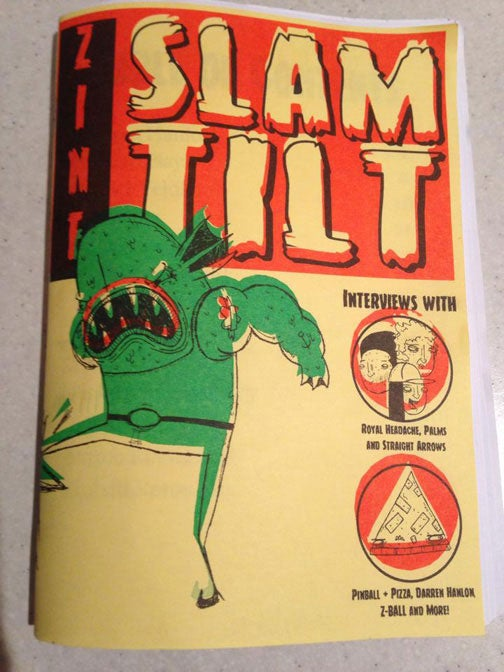 Image of Slam Tilt Zine