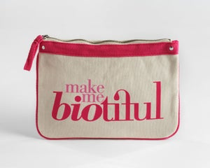 Image of Large Zipper Pouch Pink