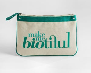 Image of Large Zipper Pouch Green