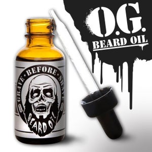 Image of GRAVE BEFORE SHAVE Beard Oil 1oz.