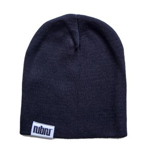 Image of Nubru Skull Beanie Black