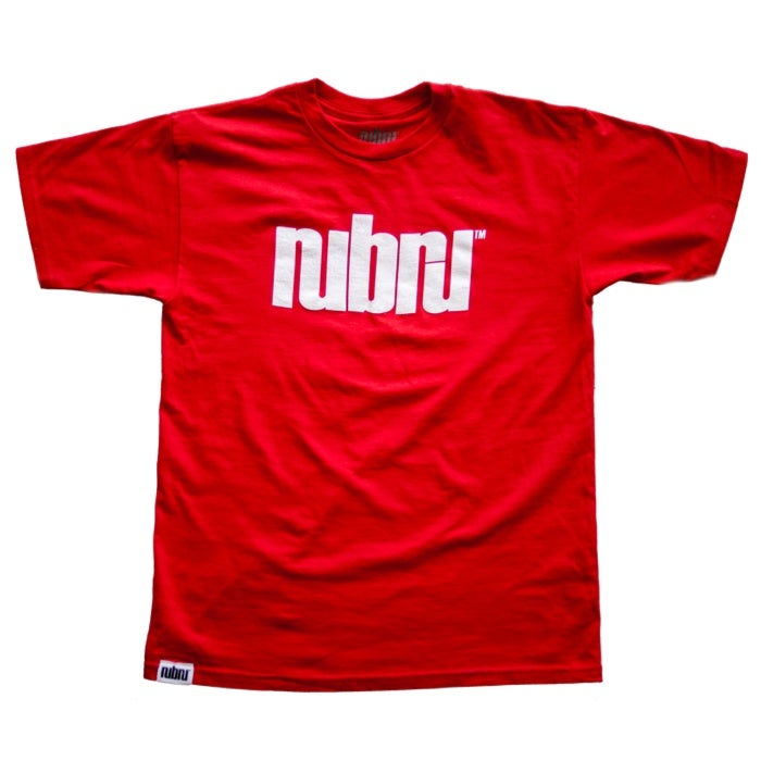 Image of Nubru Logo Tee Red