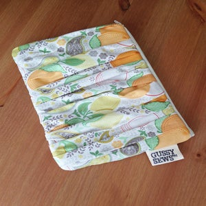 Image of Sweet Oranges envelope clutch